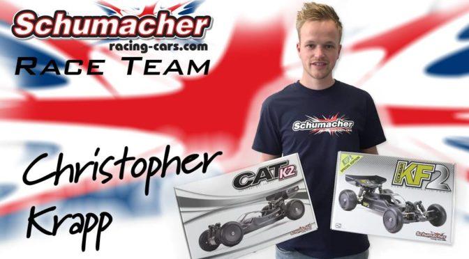 Christopher Krapp jetzt im Schumacher Race Team – Offroad