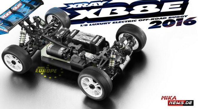Update – Xray XB8e'16