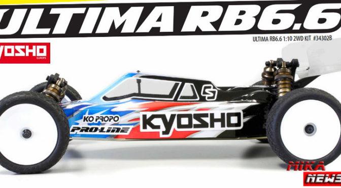 Kyosho RB6.6 – Die Teile