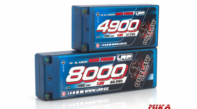 LRP LIPO – OUTLAW CAR LINE HARDCASE