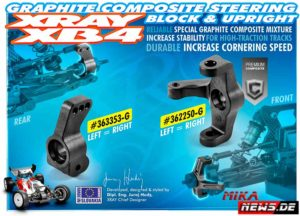 Xray_v_Composite-Steering-Block-&-Upright-362250-G-&-363353-G
