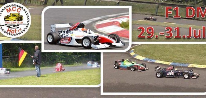 Deutsche Meisterschaft VG5F1 beim MCC-Hof e.V.