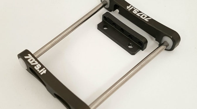 Aluminium-Aufhängungsträger für den Hot Bodies D815
