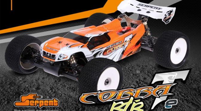 Serpent Cobra Truggy –e 1/8  4WD RTR