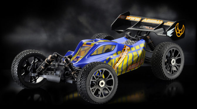 "1:8 EP Buggy ""AB2.8BL"" 4WD Brushless RTR"