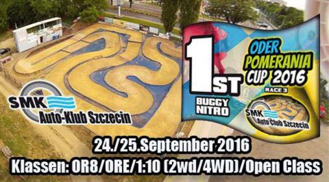 2.LAUF ZUM ODER-POMERANIA-CUP 2016 BEIM RC-SPEEDRACER
