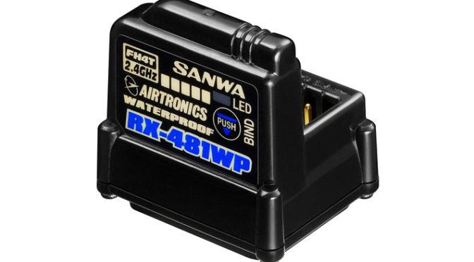 Sanwa RX-481WP Empfänger – Jetzt Wasserdicht