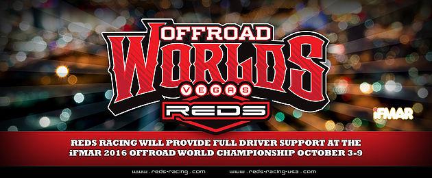 REDS Support auf der IFMAR 1/8 Offroad Weltmeisterschaft