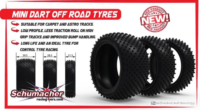 Schumacher Racing präsentiert neue Reifen