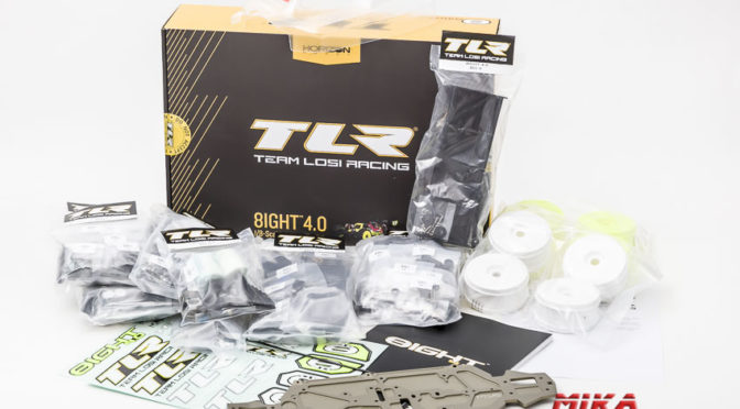 TLR 8IGHT 4.0 1/8 Nitro Buggy im Test – Der Zusammenbau Teil 1