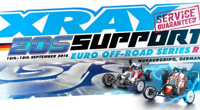 Xray Support beim EOS Round 1 in der Eifel auf dem Nürburgring