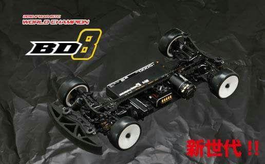 Yokomo BD8 – kommt demnächst