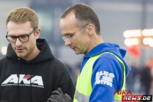 Carsten und Stefan waren ein eingespieltes Team beim Messecup.
