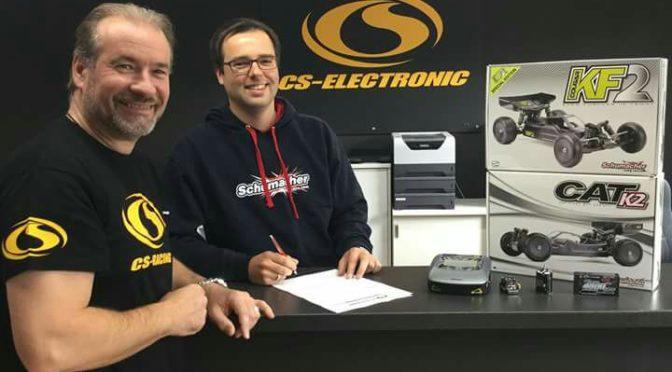 MICHAEL LEPUSCHITZ SIGNS SCHUMACHER & CS-ELECTRONIC