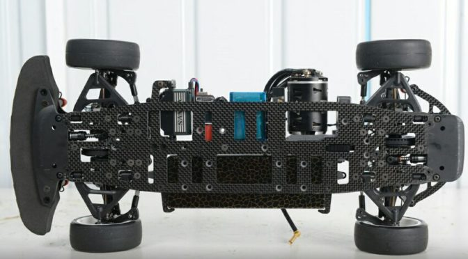 Light Carbon-Chassis für Project 4X