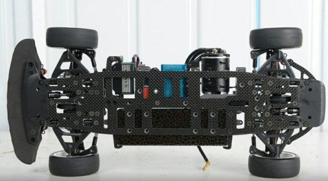 Light Carbon-Chassis für Project 4X