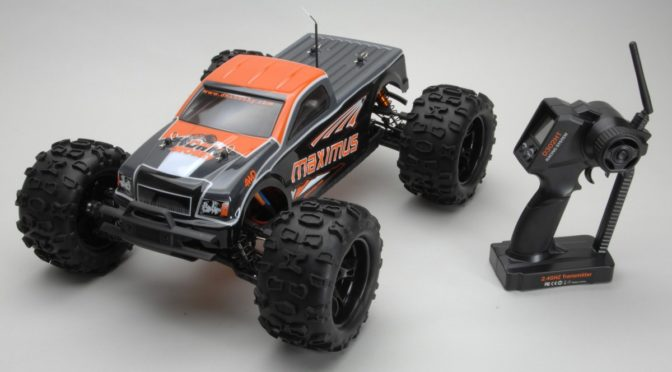 DHK Maximus Brushless 4WD Monster Truck RTR 1:8 2,4GHz