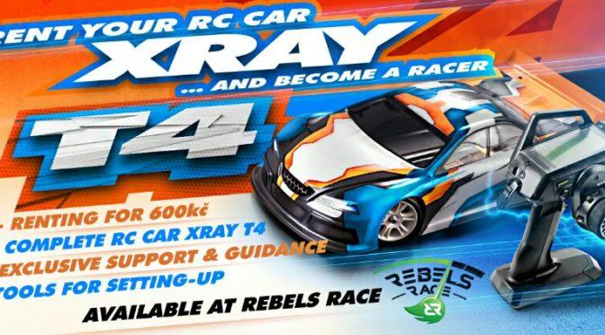 Rent a Car – Miete einen Xray T4