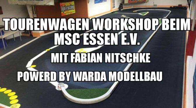 Tourenwagen Workshops im Dezember 2016 mit Fabian Nitschke