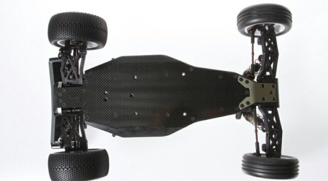 Optionales Carbon-Chassis für den Spyder SRX2-MH – 1/10 Buggy