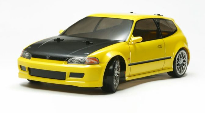1:10 RC Honda Civic SiR (EG6) TT-02D