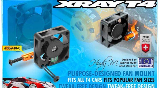 Xray – Lüfterhalter für den T4