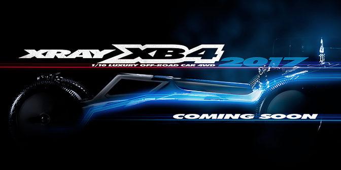 Xray XB4'2017 , der neue 4WD kommt demnächst