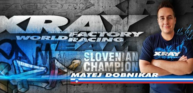 Matej Dobnikar wechselt zu XRAY