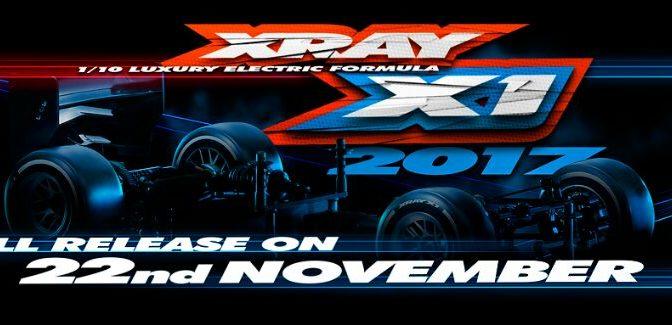 Xray X1'17 – Produktvorstellung am ?