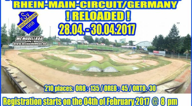 11TH INTERNATIONAL WARM-UP auf dem Rhein-Main-Circuit