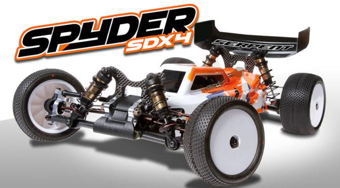 Spyder SDX4 Buggy 4WD 1/10 – Die Infos