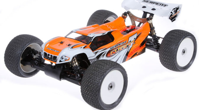 Serpent Cobra E-Truggy 1:8 4WD RTR Edition