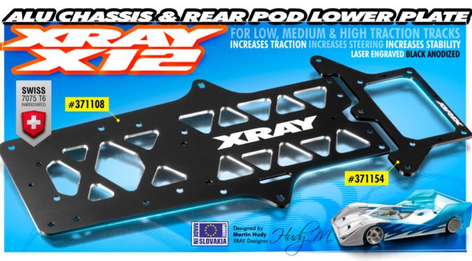 Neues Aluminium-Chassis und Pod für den X12`17