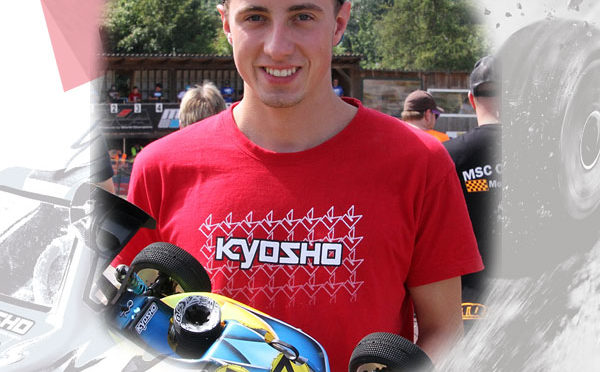 Luca Rau weiter bei KYOSHO EUROPE