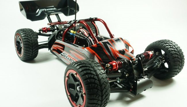 SWORKZ FOX 44 BRUSHLESS BUGGY 4X4 1/10 RTR ROT