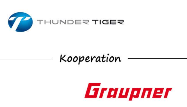 Graupner und Thunder Tiger starten Kooperation