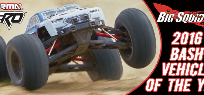 "ARRMA NERO Wins Big Squid RC ""2016 Bash Vehicle of the Year"""