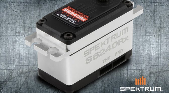 S6240RX High Speed Digital Servo w/Receiver
