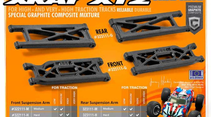 Xray XT2 – neue Querlenker