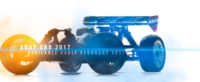 XRAY NEWS: XRAY XB8`17 coming soon