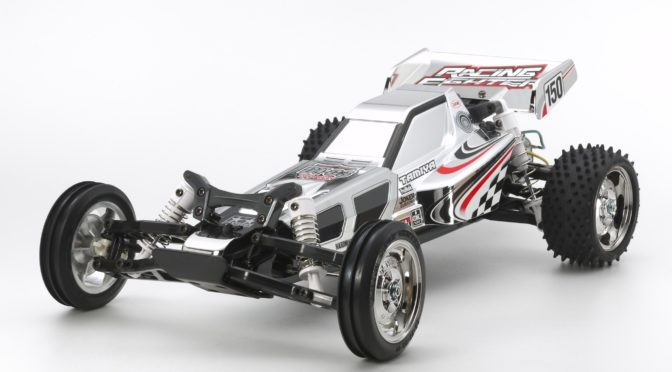 1:10 RC Racing Fighter Chrome (DT-03) von Tamiya