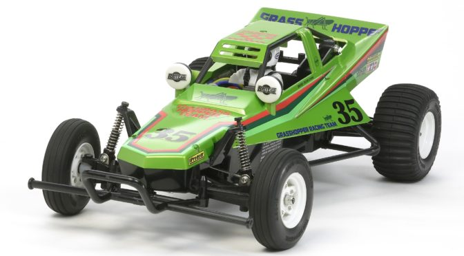 1:10 RC The Grasshopper 2005 Candy Green von Tamiya