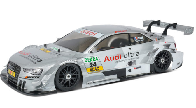 1:5 Chassis 100% RTR inkl. Audi RS5 Karosserie