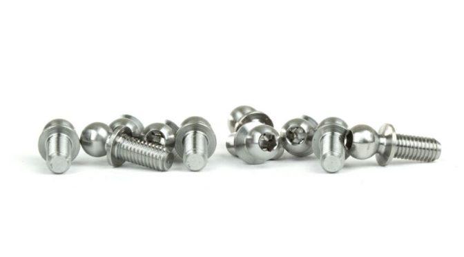Xray X12 | Titanium Ball Studs and Pivot Balls von AVIDRC