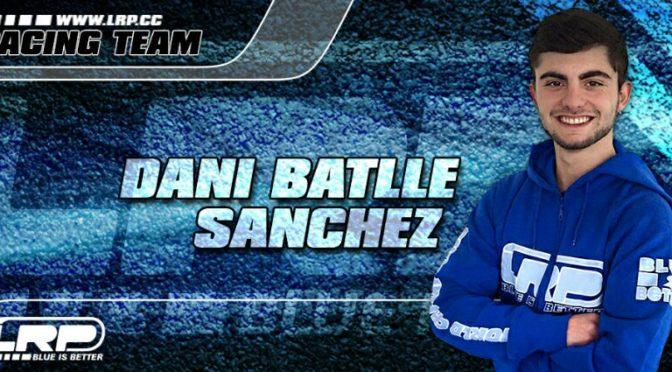 Willkommen im LRP Team – Dani Batlle Sanchez!