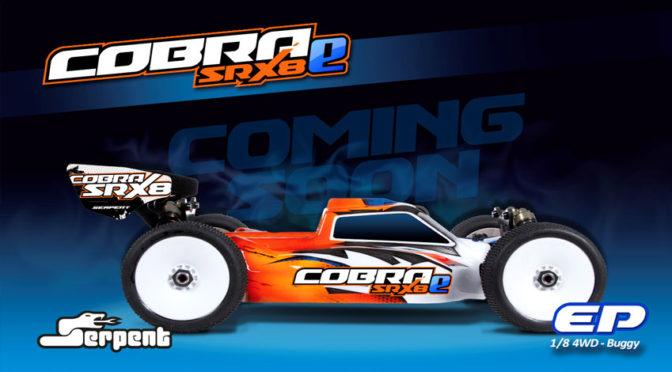 Serpent Cobra SRX8-E Buggy kommt demnächst
