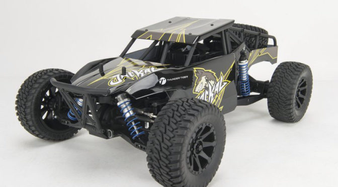 Thunder Tiger Jackal 1:10 Buggy 4WD Black Edition, Ready to Run (RTR)