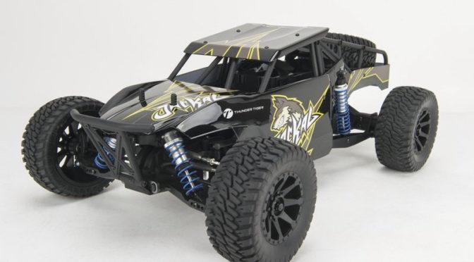 Thunder Tiger Jackal 1:10 Buggy 4WD Black Edition, Ready to Run (RTR)