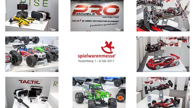 Nürnberger Spielwarenmesse 2017 – Rundgang bei Pro Models und Corally