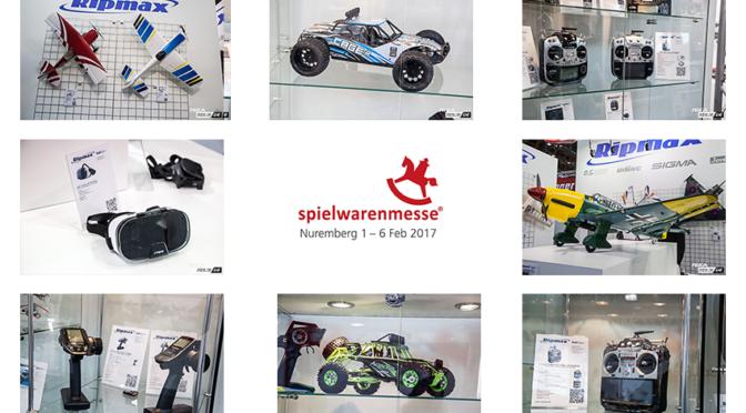 Nürnberger Spielwarenmesse 2017 – Rundgang bei Ripmax